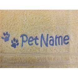 Pet's names